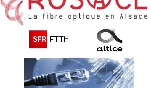 Inauguration du nœud de raccordement optique